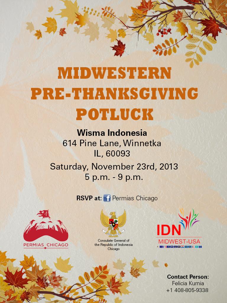 Pre-Thanksgiving Potluck